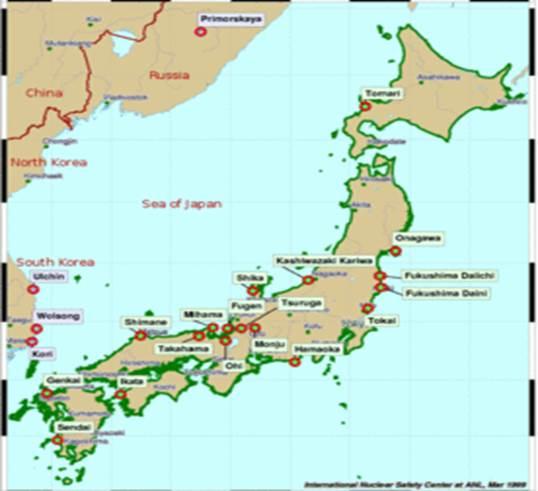 АЭС «Фукусима-1» была